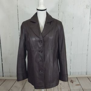 Wilson Leather Jacket with Thinsulate
